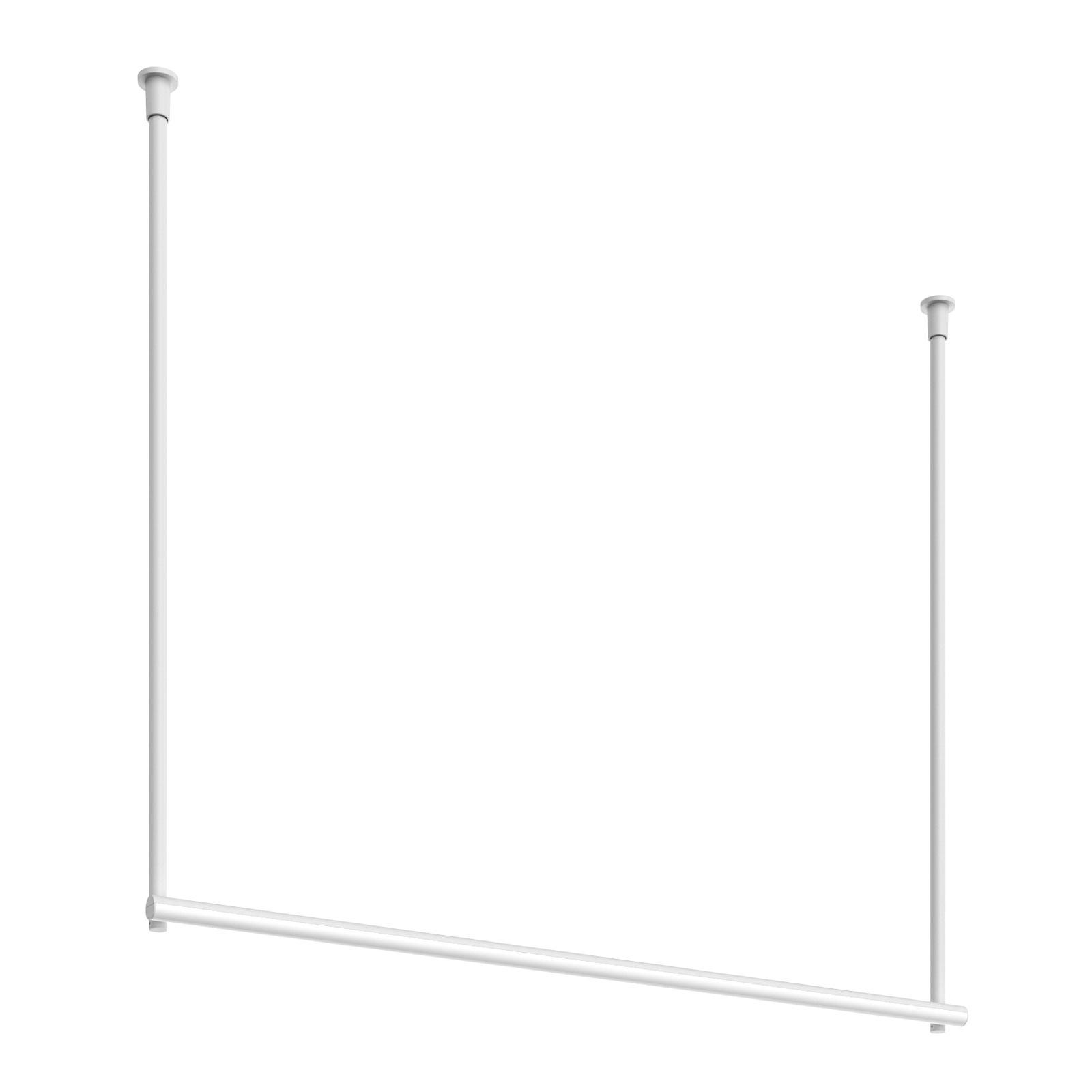 FLOS Infra-Structure C2 LED-Deckenlampe weiß