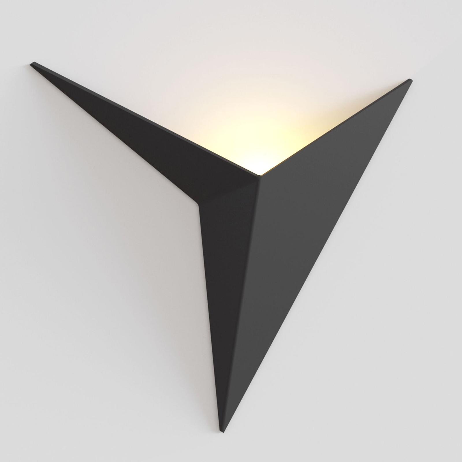 LED wandlamp Trame zwart
