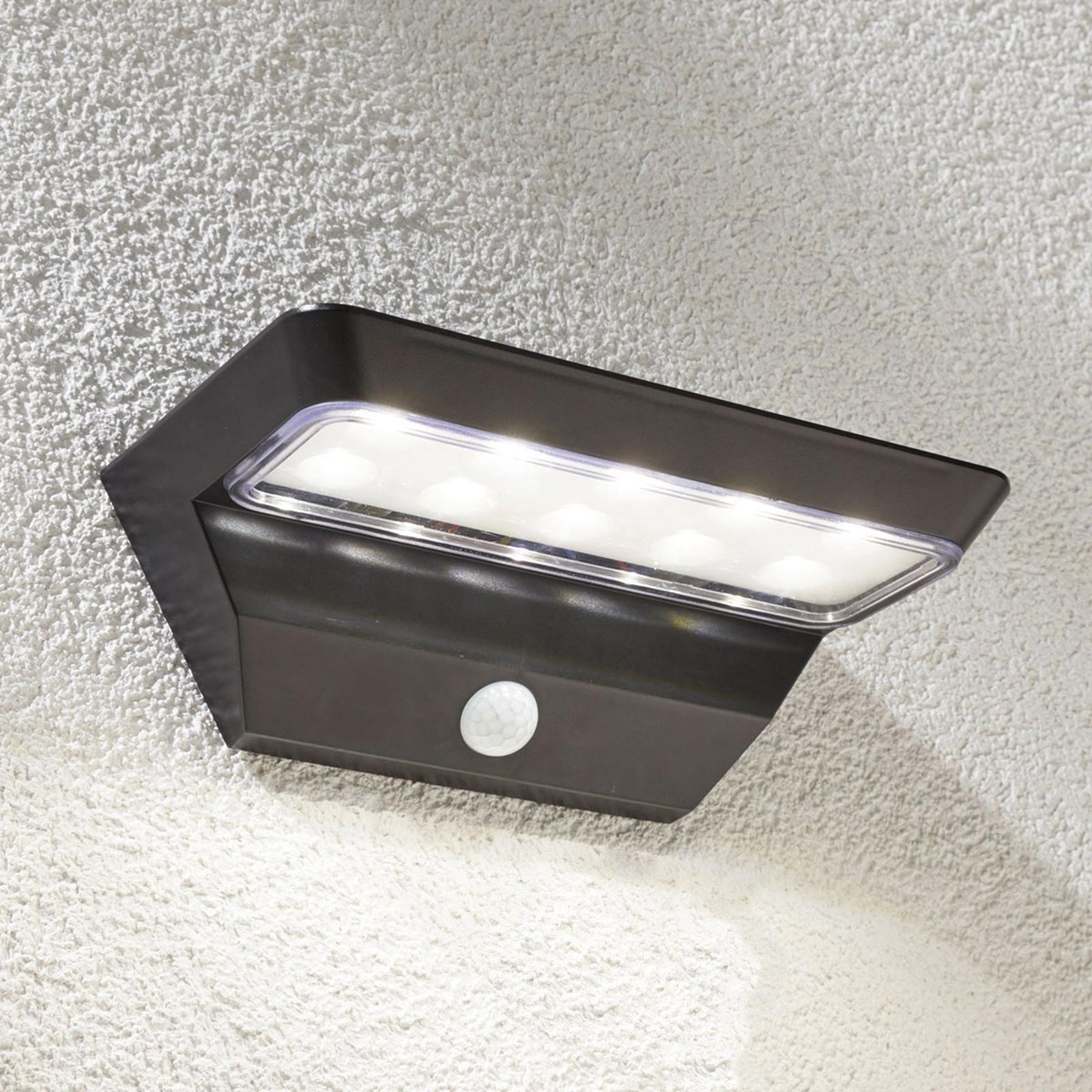 Emilio – kinkiet solarny z czujnikiem i LED