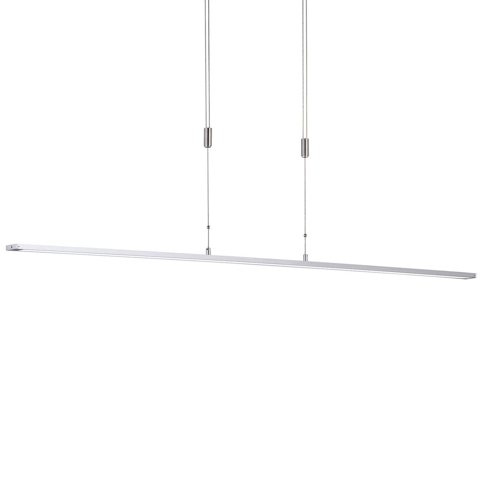 Lampa wisząca LED Metz z przyciskiem długość 160cm