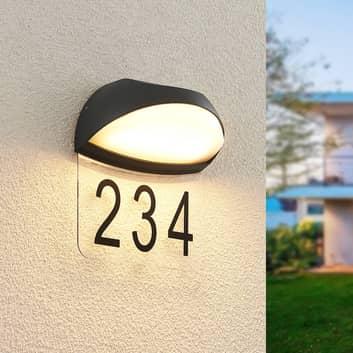 Lucande Loena lampada LED numero civico