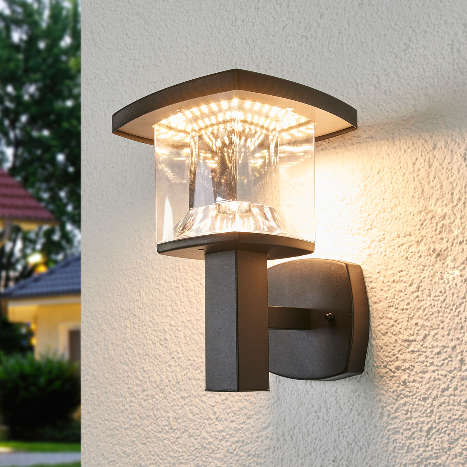 Askan stainless steel LED outdoor wall light_9988176_1