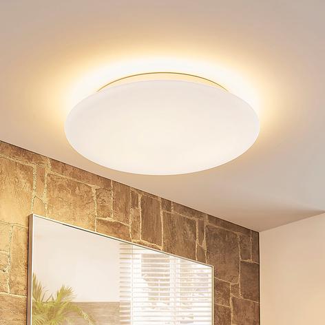Drietraps dimbare LED plafondlamp Toan, IP44