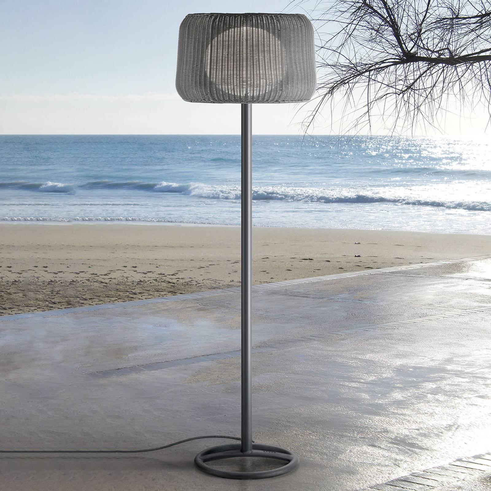 Bover Fora P lampadaire d'extérieur, brun-graphite