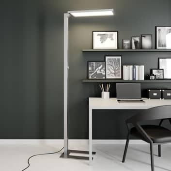 Prios Lexo LED-golvlampa till kontor med dimmer