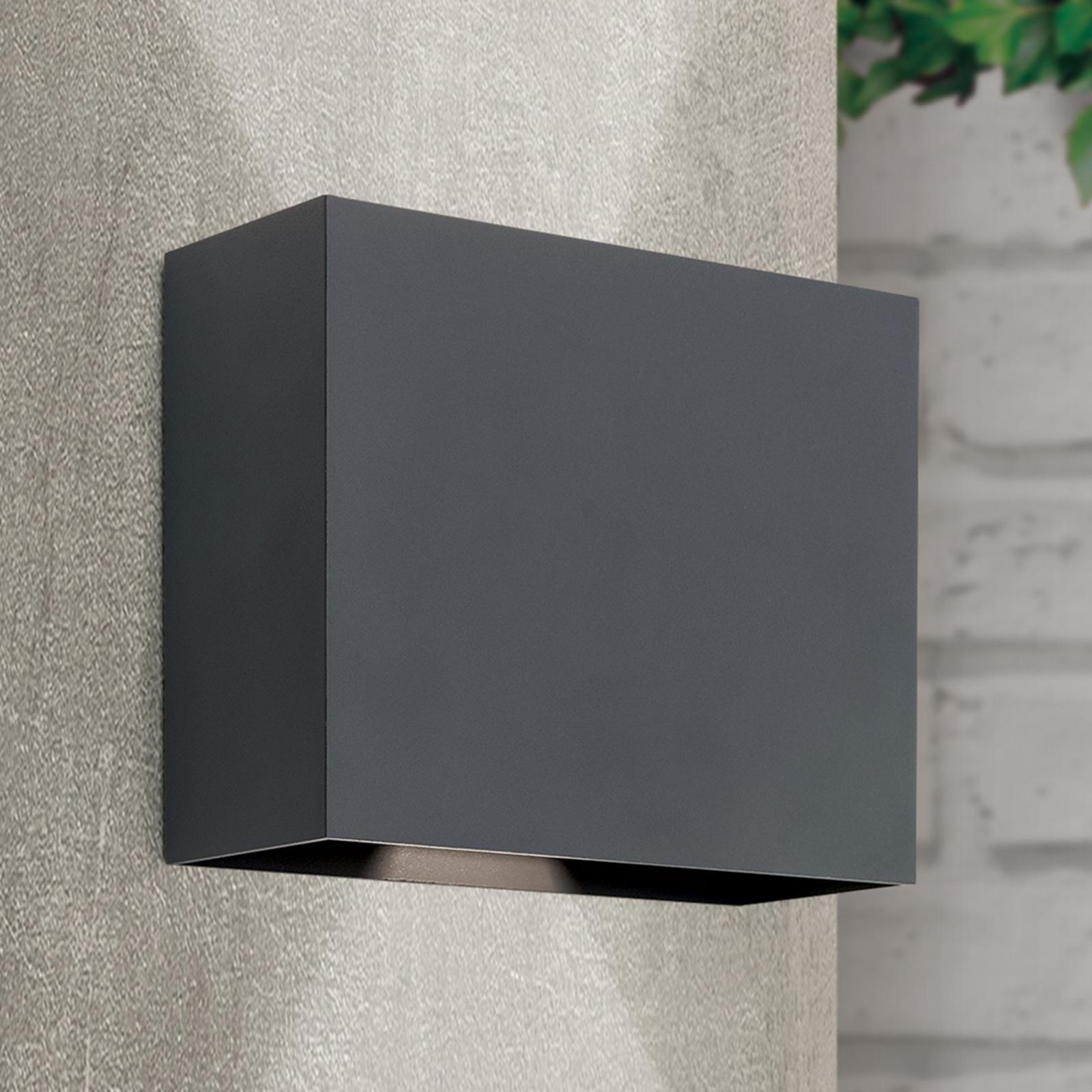 LED-Wandleuchte Akzent Winkel variabel schwarz