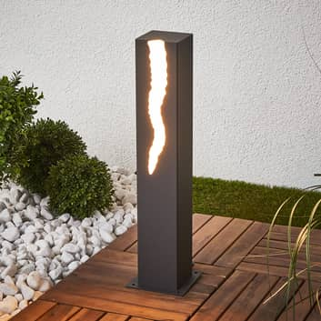 LED-Sockelleuchte El Rayo, Lichtaustritt einseitig