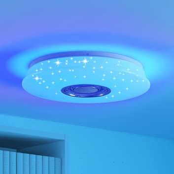 Lindby Elpida LED-Deckenlampe mit Lautsprecher