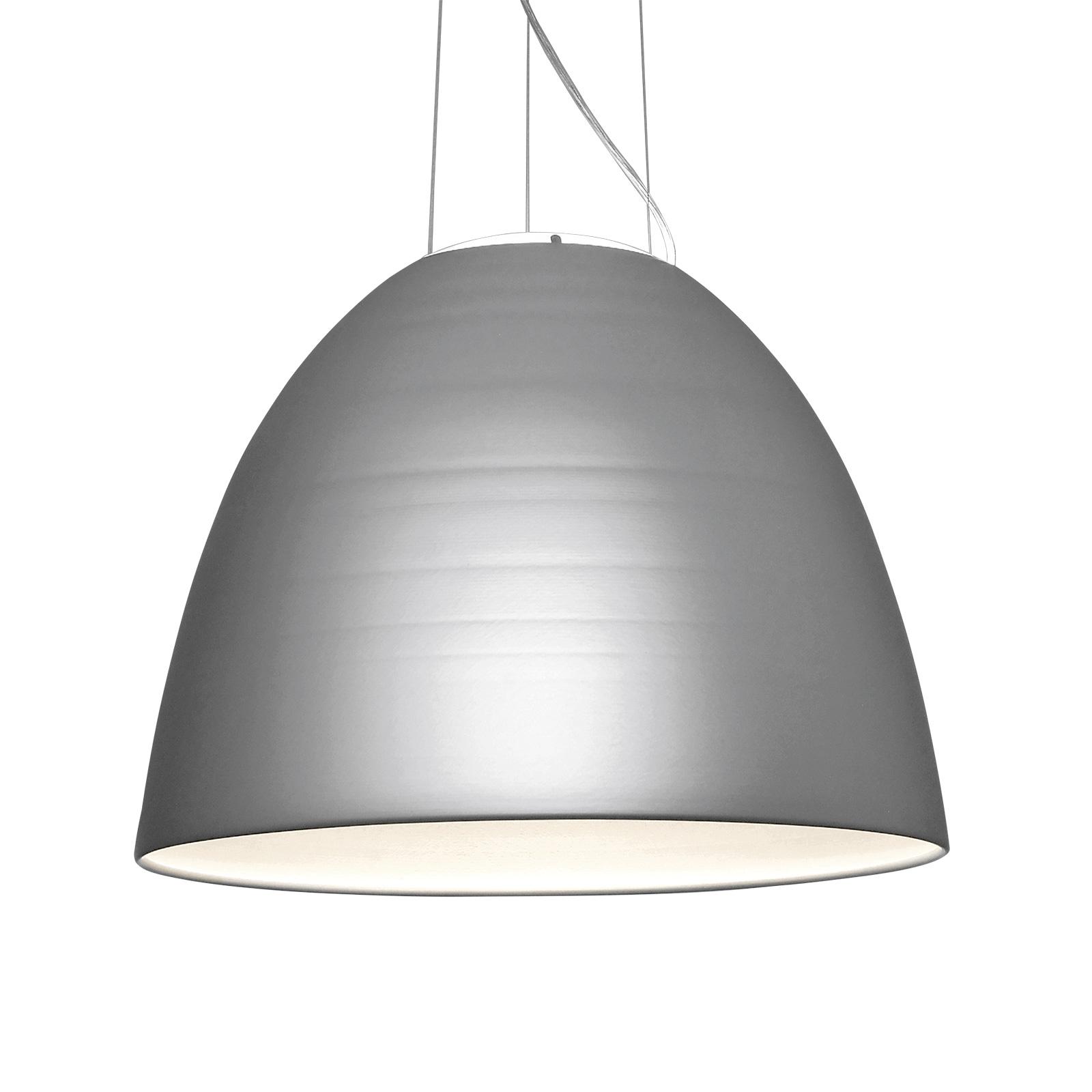 Artemide Nur 1618 -LED-riippuvalo, metallinharmaa