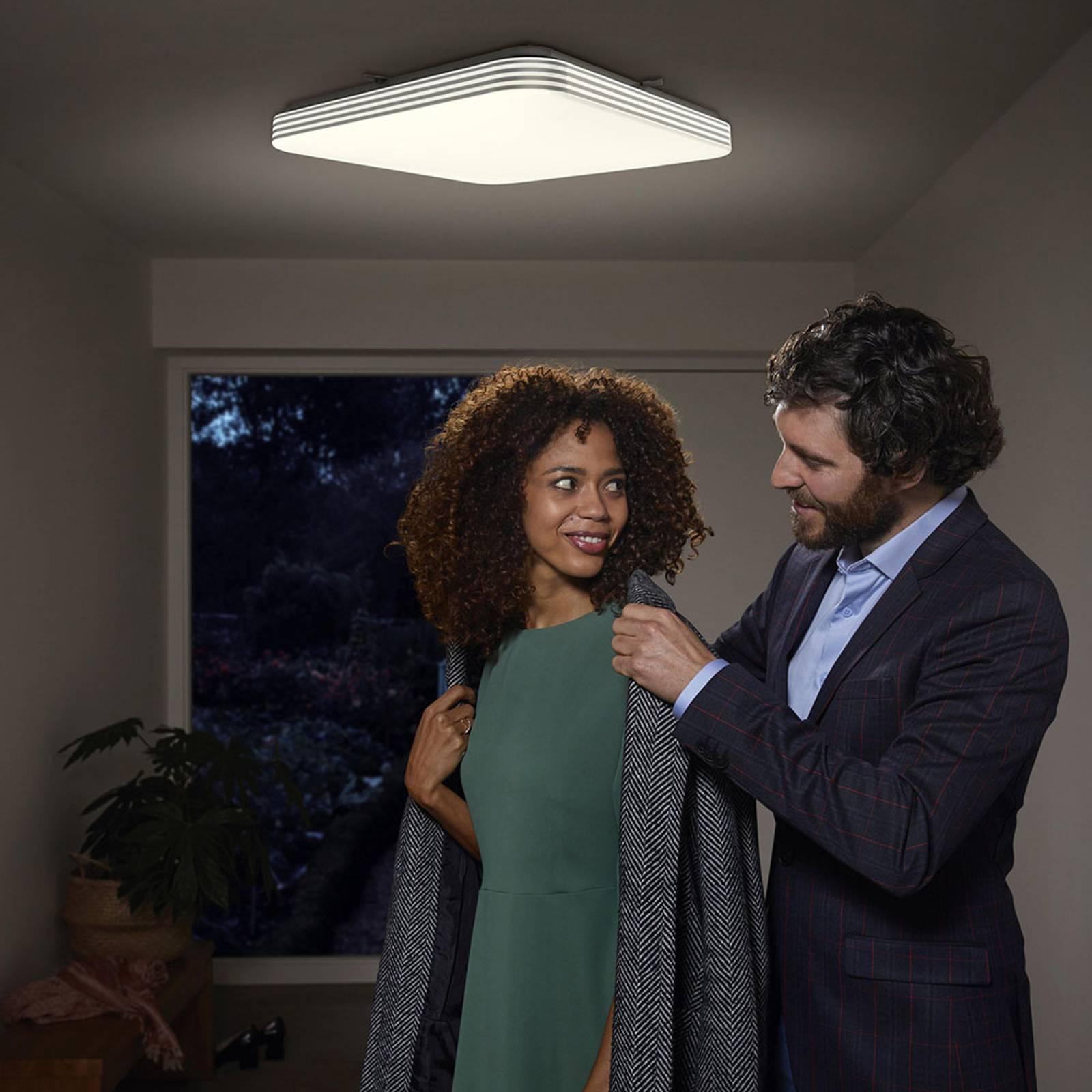 Ledvance Orbis Sensor LED plafondlamp hoekig 43cm
