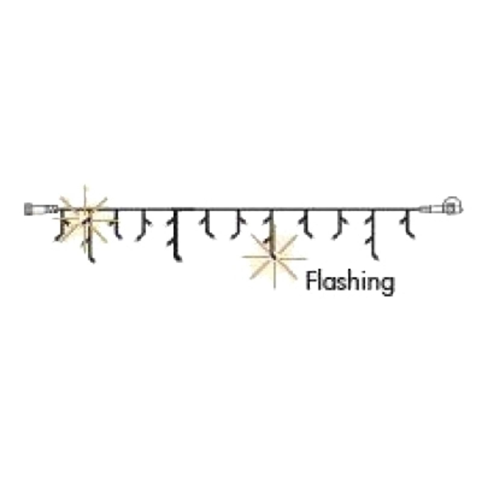 Blinkende LED-Eiszapfen-Erweiterungskette System24