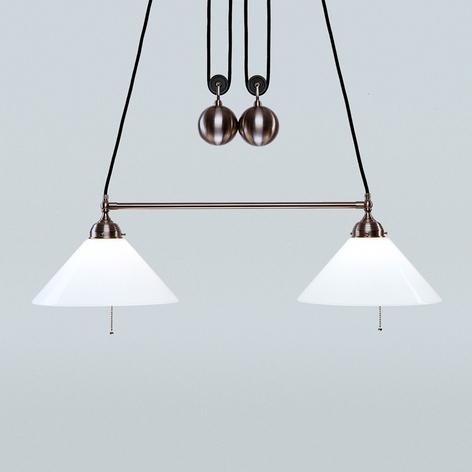 In hoogte verstelbare hanglamp Emma