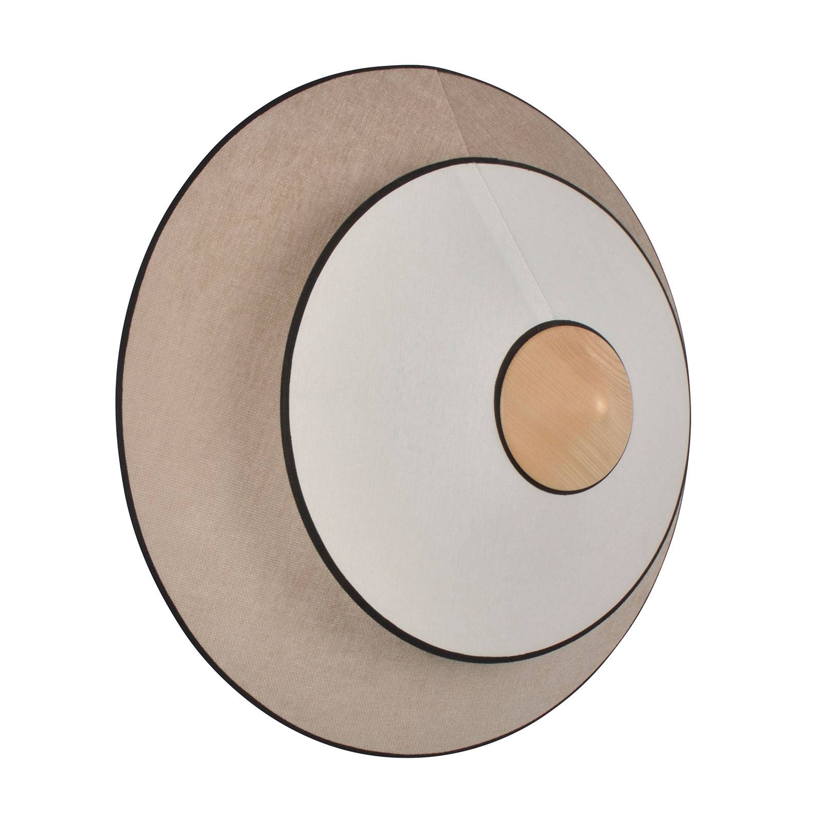 Forestier Cymbal S LED-Wandleuchte, natur