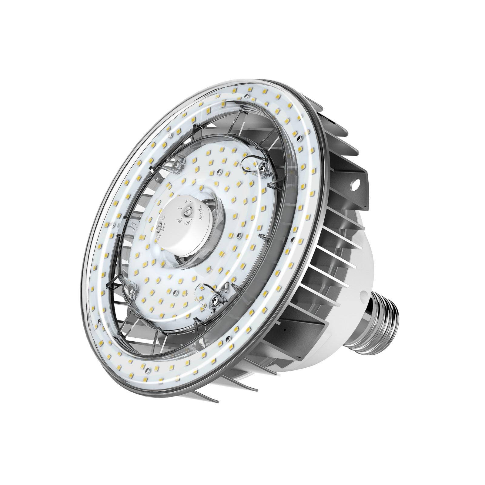 Sylvania LED-pære E40 m. PIR-Sensor 80 W 4.000 K