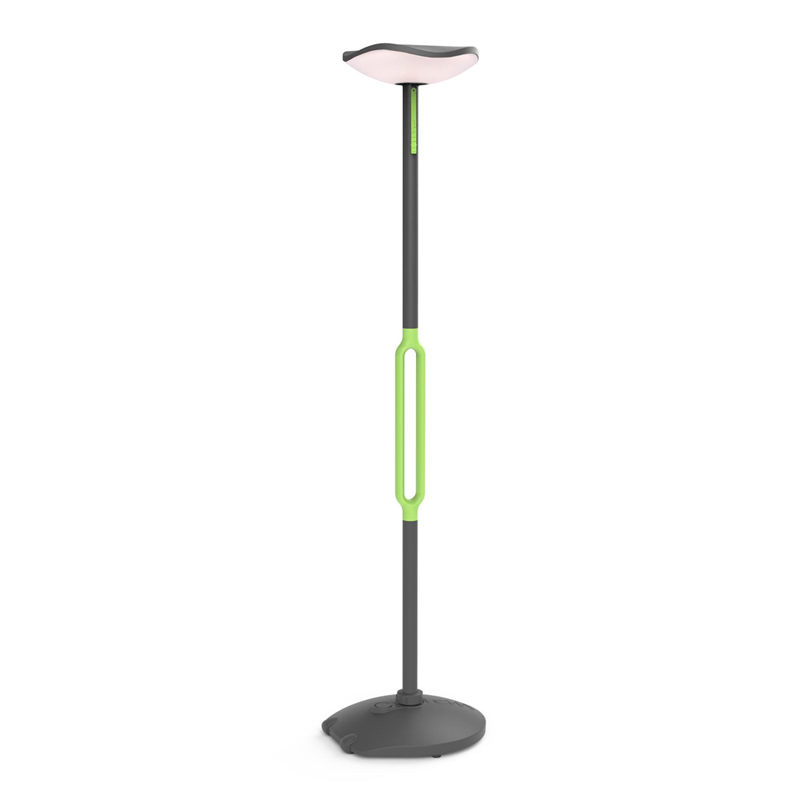 Poppy lampadaire solaire LED avec haut-parleur 3W