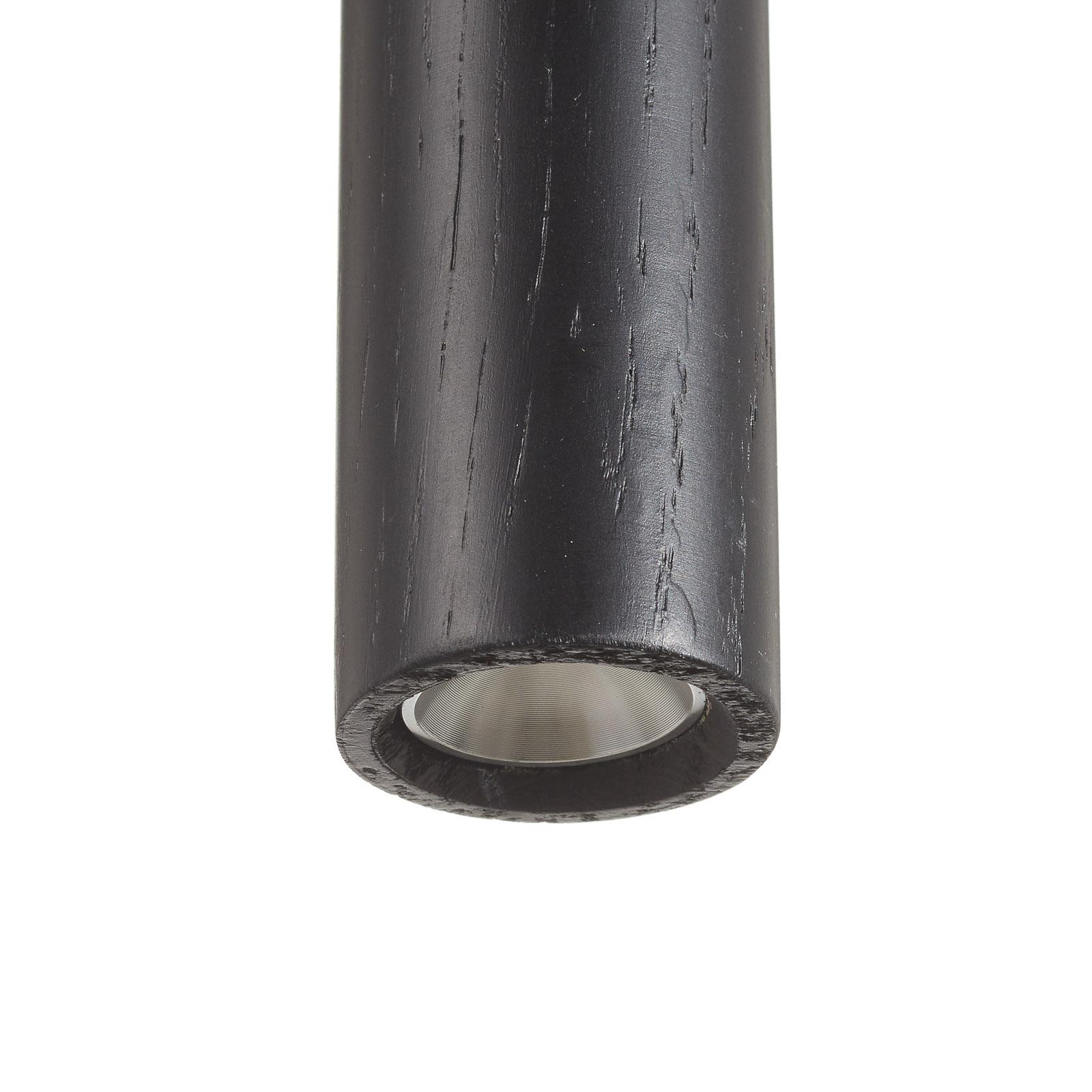 UMAGE Chimes Cluster 3 lampa wisząca dąb czarna