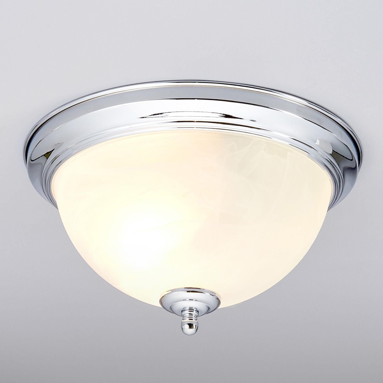 Łazienkowa lampa sufitowa CORVIN w kolorze chromu