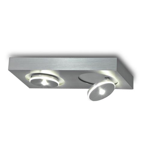 Escale Spot It - moderne LED-Deckenleuchte, 2flg.