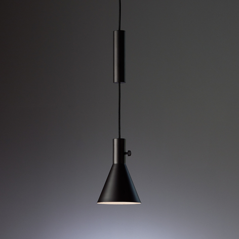 Eleu matt svart LED pendellampe