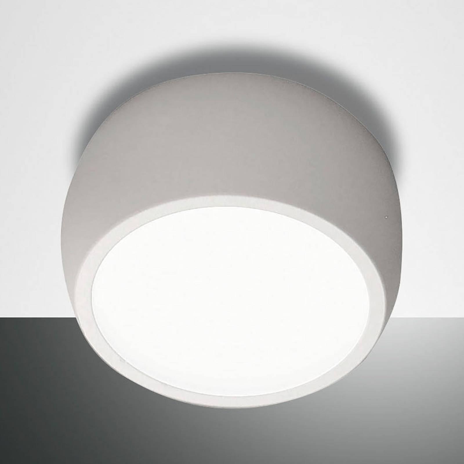 Ronde LED downlight Vasto, wit
