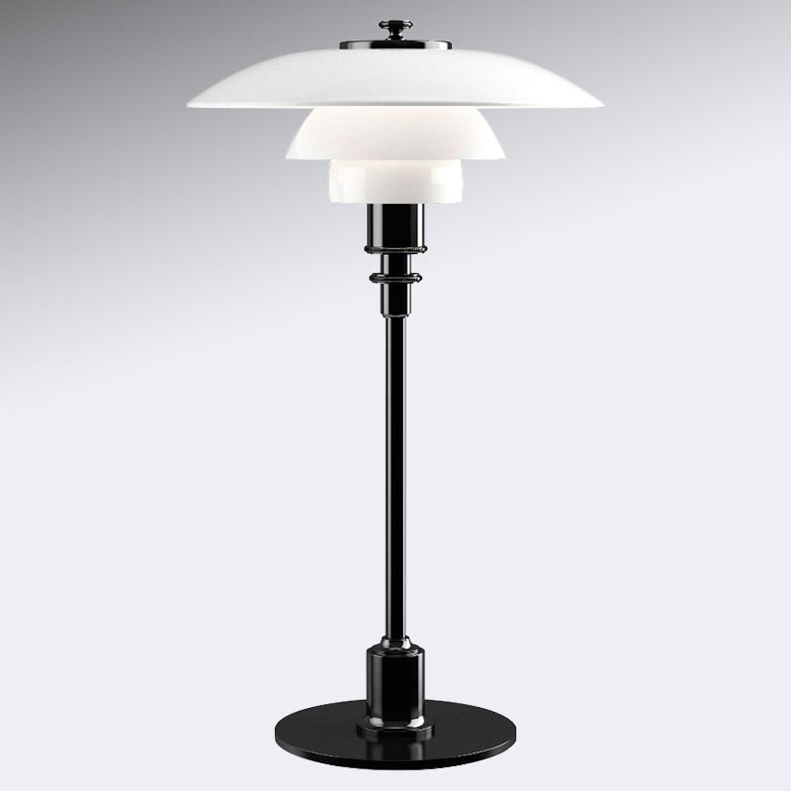 Tafellamp PH 2/1 - zwart gemetalliseerde voet