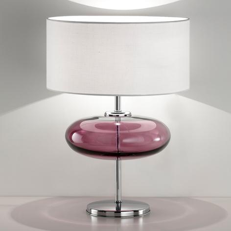 Stolní lampa Show Elisse 62 cm růžový prvek