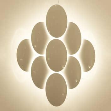 Milan Obolo - LED-Wandleuchte dimmbar - 8-flg.