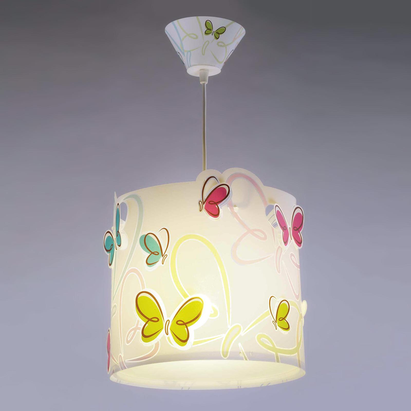 Forårsagtig pendellampe Butterfly