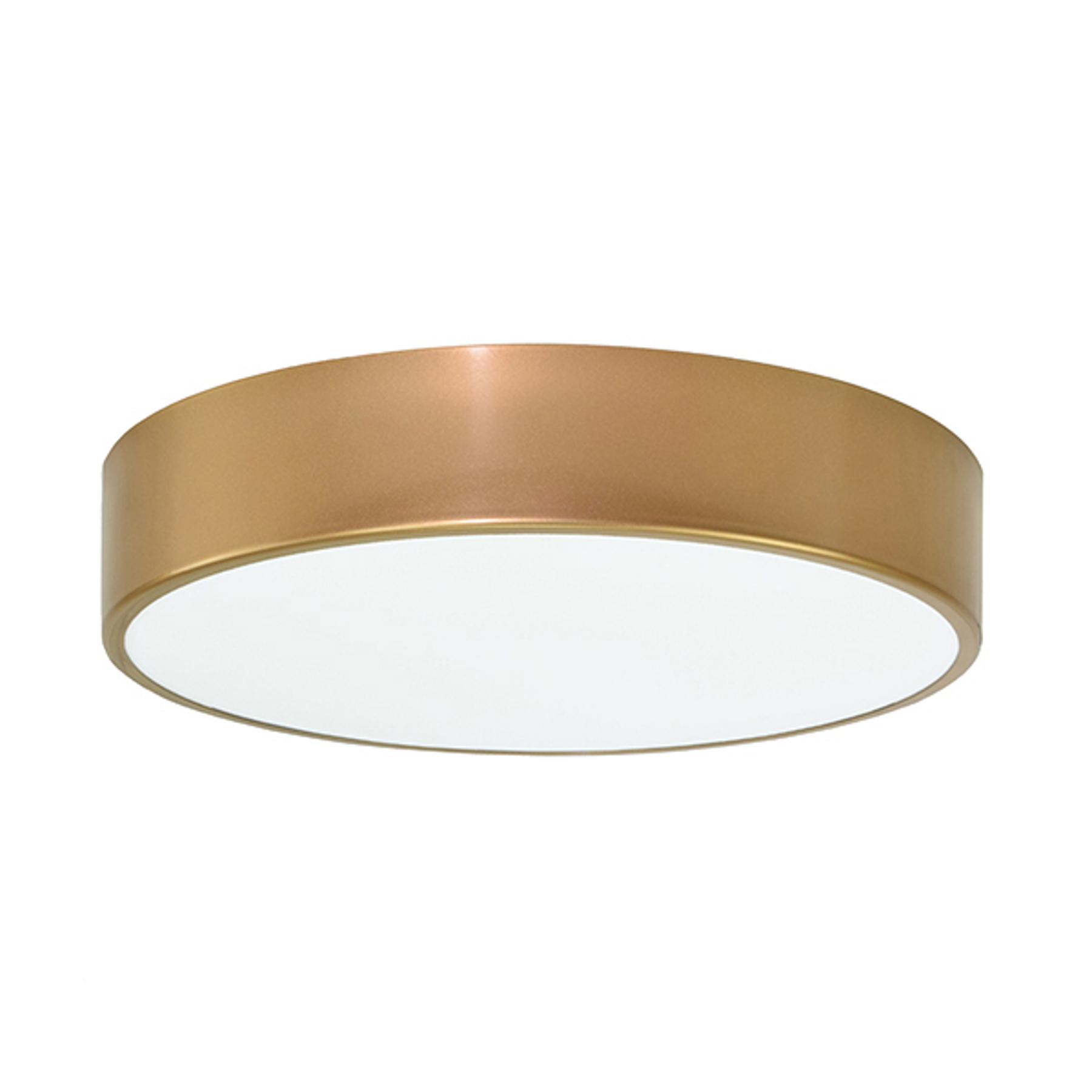 Deckenleuchte Cleo, Ø 40 cm, gold
