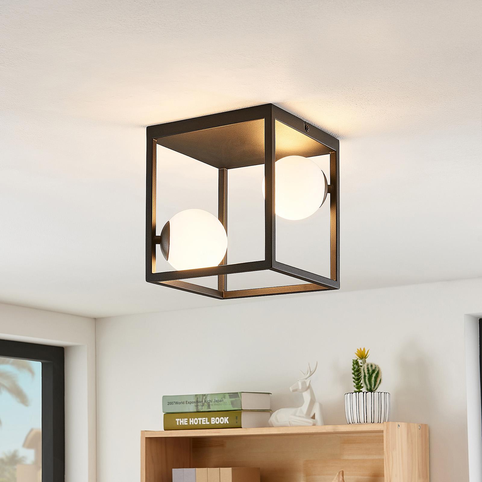 Lindby Utopia LED-Deckenleuchte, zweiflammig