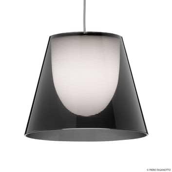 FLOS KTribe S1 hanglamp, rookgrijs
