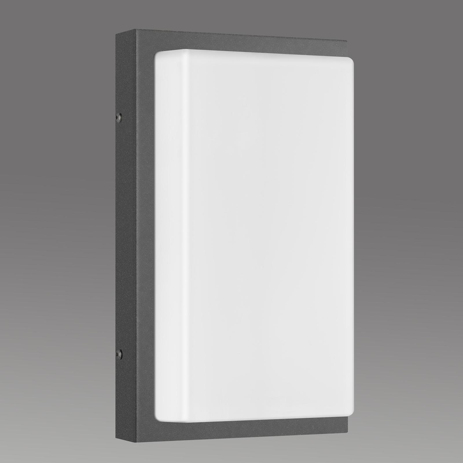 Außenwandlampe Babett E27 ohne Sensor graphit