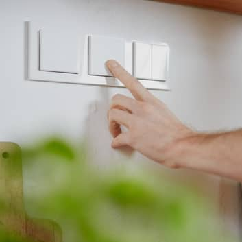 Senic Smart Switch 3 interrupteurs mur Philips Hue