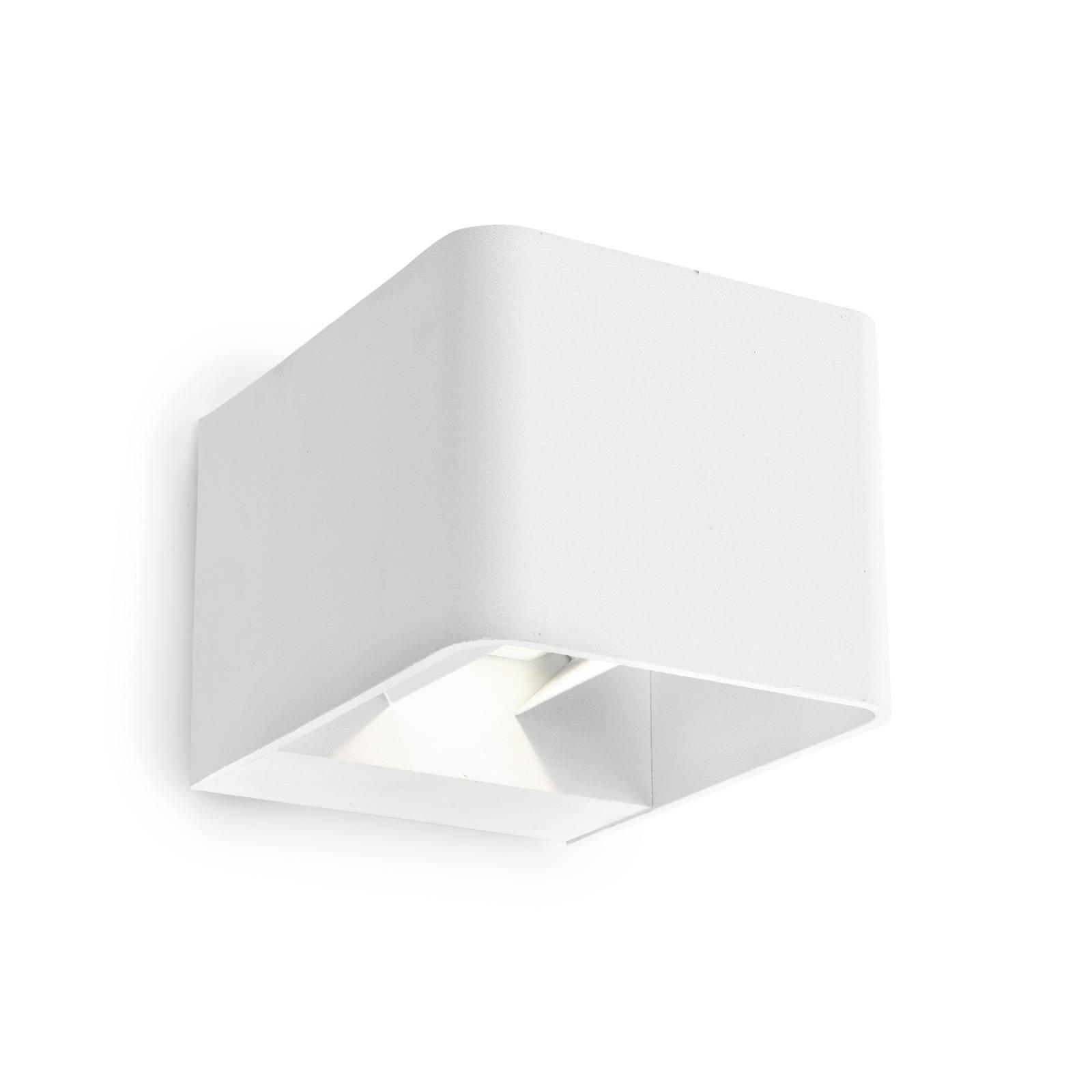 LEDS-C4 Wilson applique d'ext. LED, 11cm, blanche