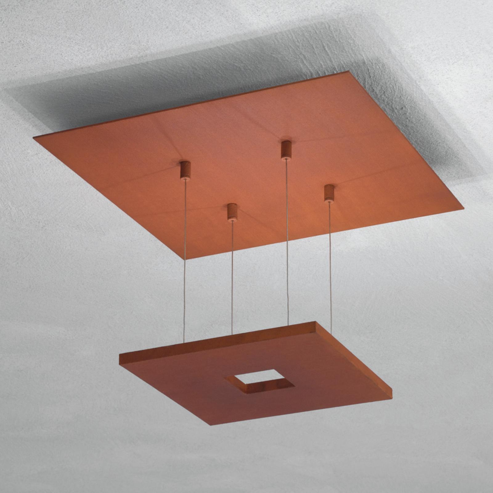 Escale Zen - ruosteenvärinen LED-kattovalaisin