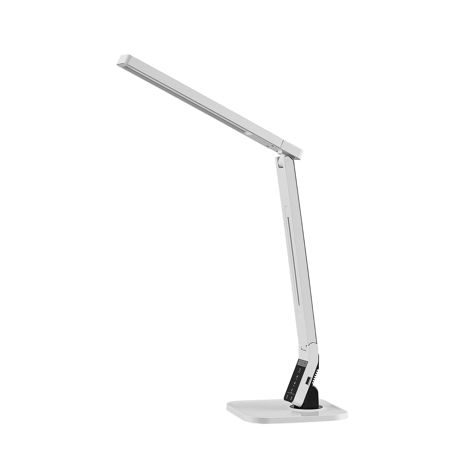 Arcchio Liano LED-Schreibtischleuchte, weiß