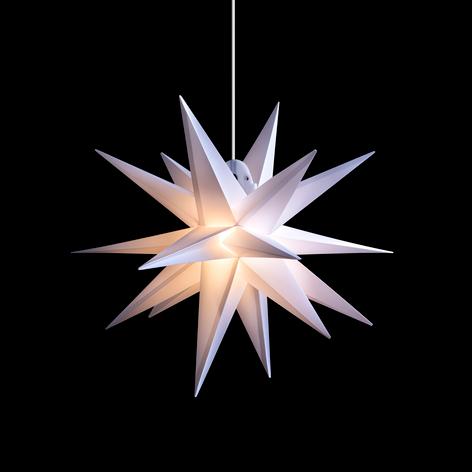 LED-Stern für außen, 18-Zacker, weiß