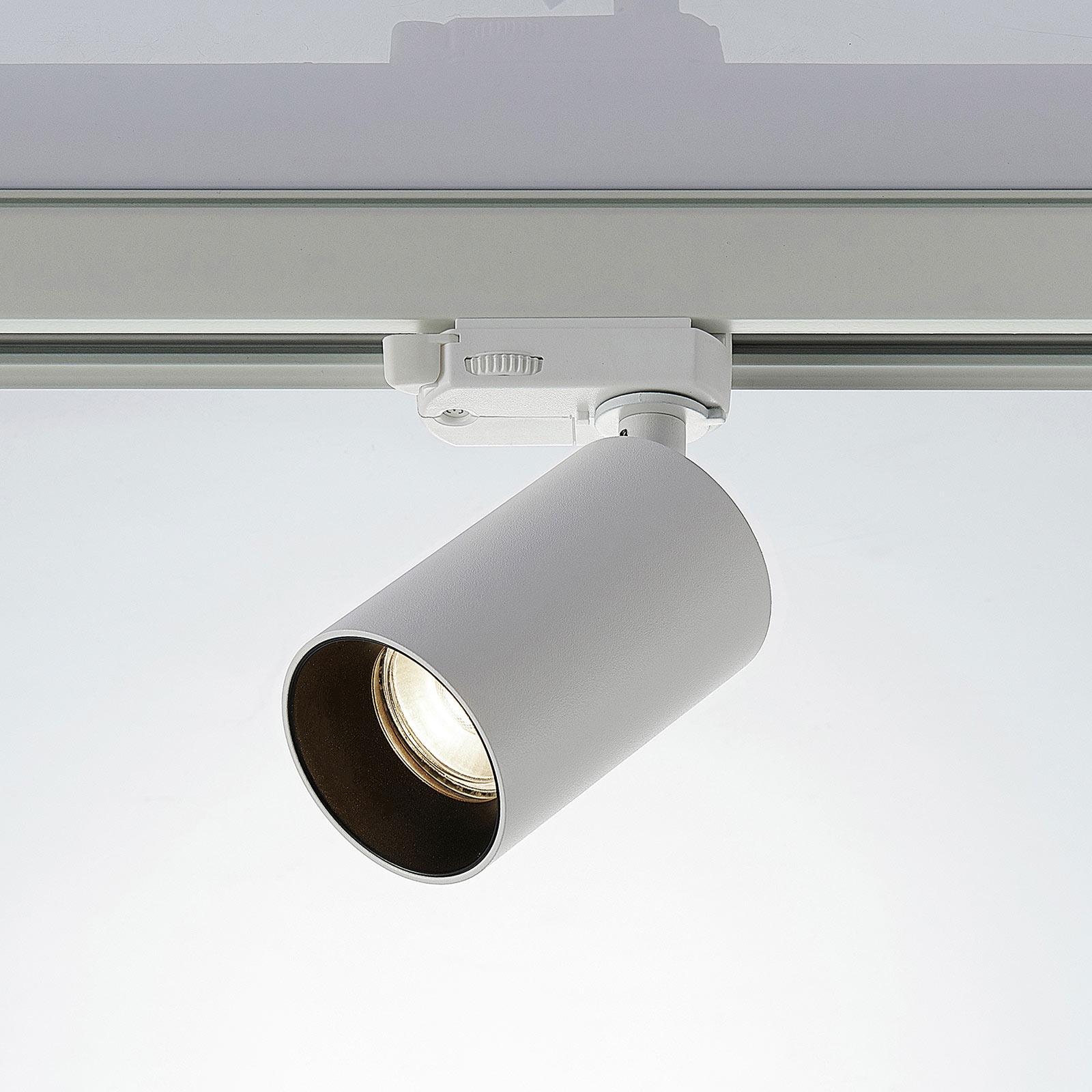 3-fas spotlight Brinja till skensystem, vit