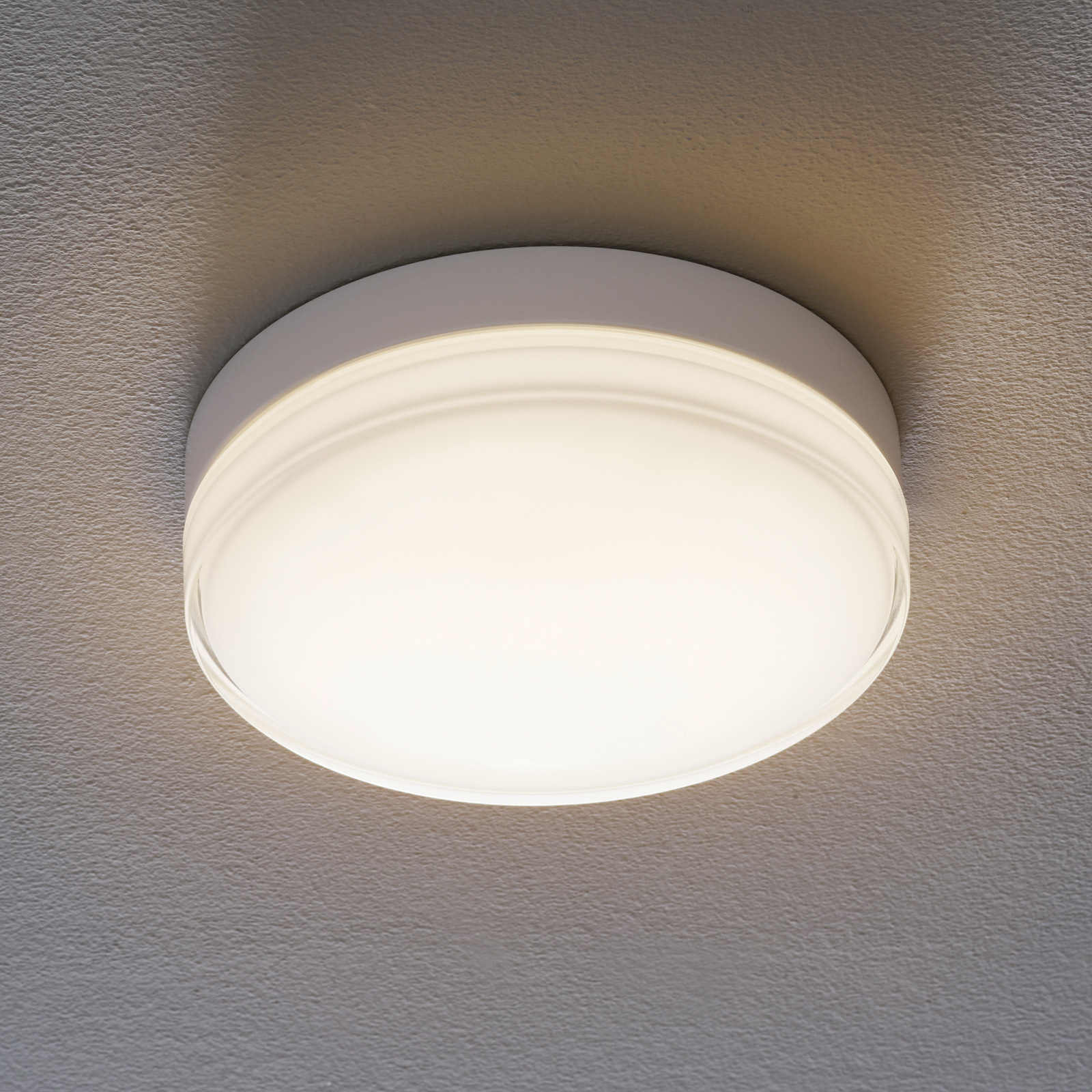 BEGA 12128 LED-Deckenleuchte DALI 930 weiß 26cm