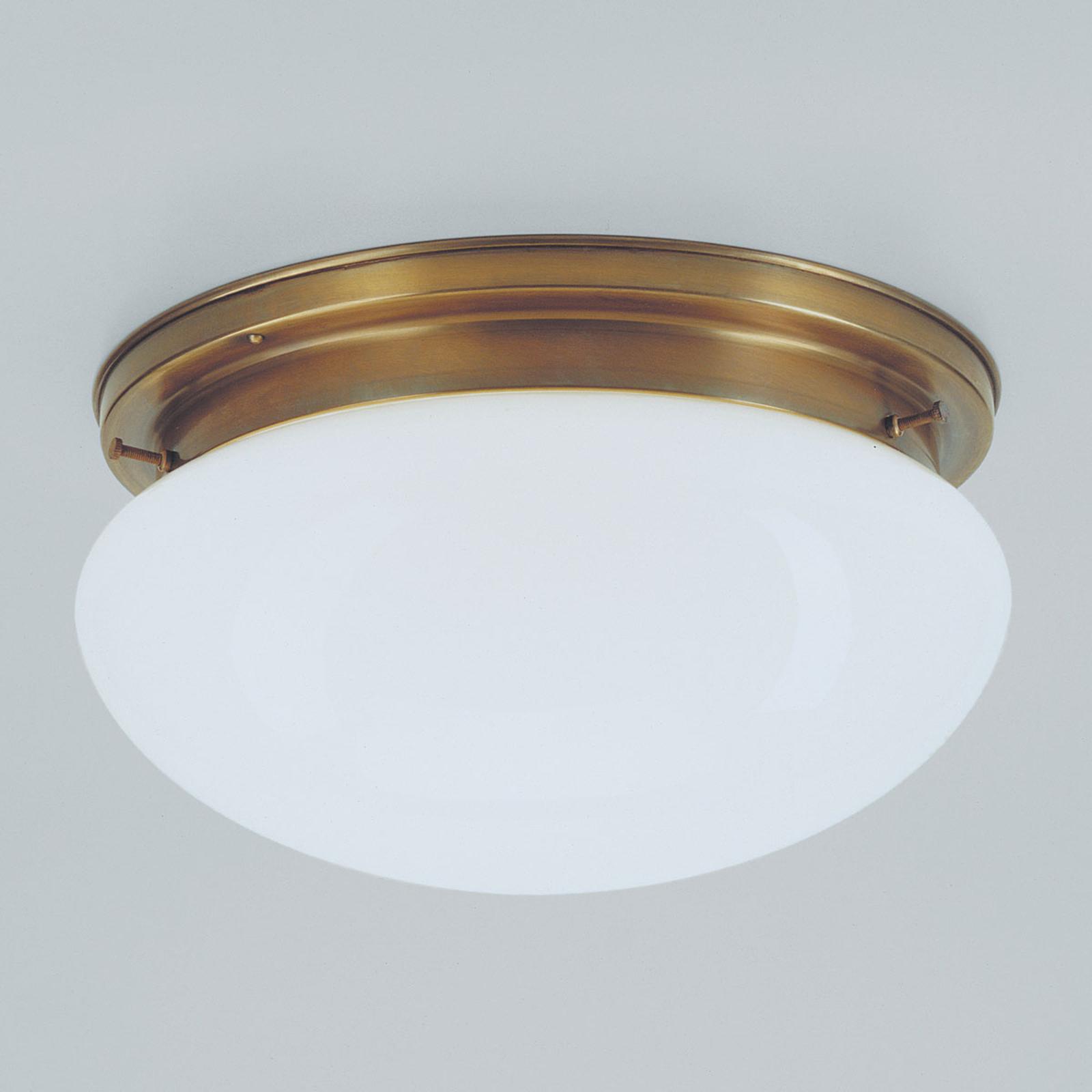 Mosiężna lampa sufitowa ARIAN, 30 cm