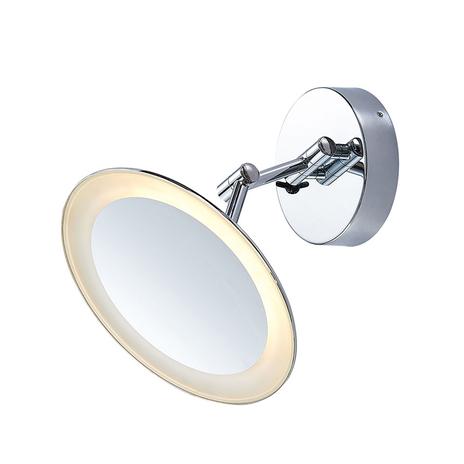 Lindby Fiana lusterko kosmetyczne z LED