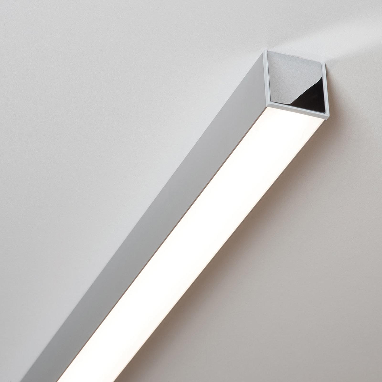 Ride LED-taklampe eloksert alu, 85,7 cm