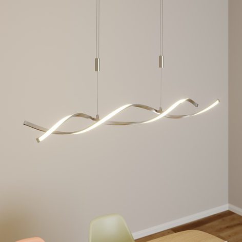 Høydejusterbar LED-hengelampe Auron