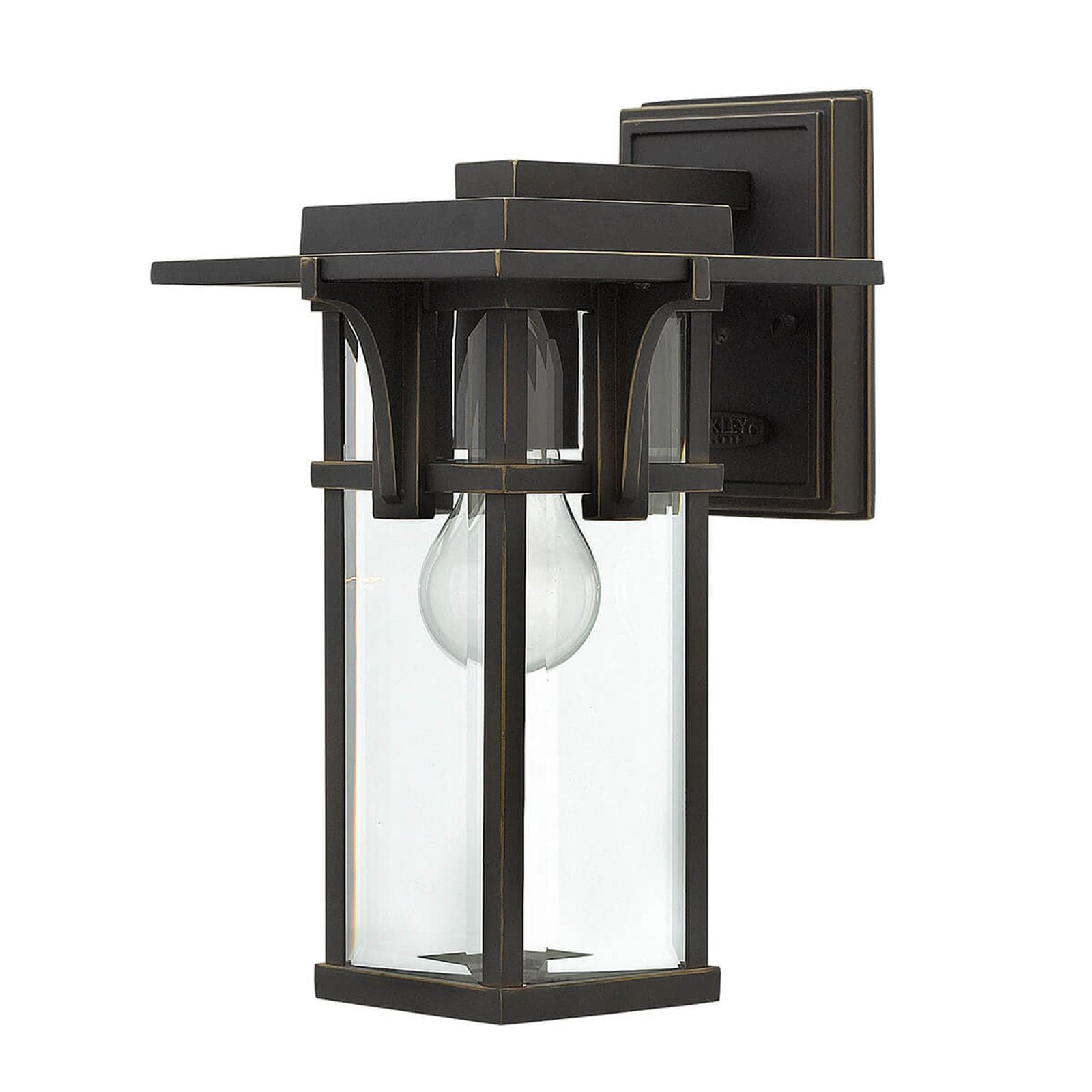 Manhattan - buitenwandlamp in industriële stijl