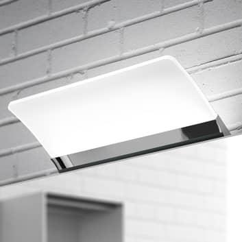 Lámpara de espejo LED Angela, plana, IP44, 16 cm