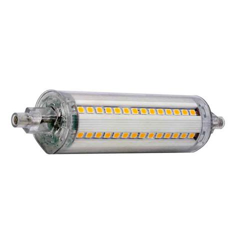 R7s 118mm LED tyčová lampa 9W univerzální bílá