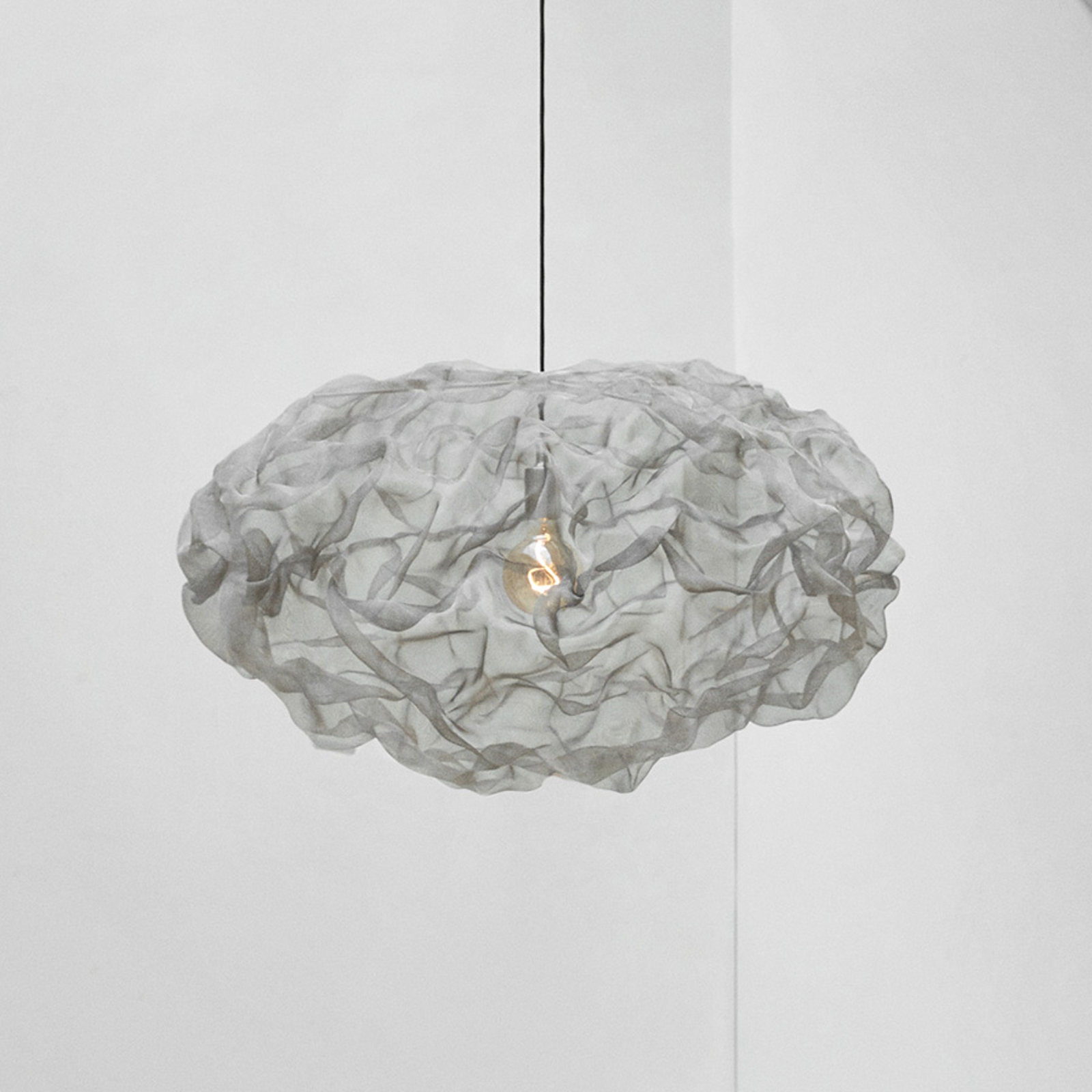 Northern Heat hanglamp, staal, Ø 55cm
