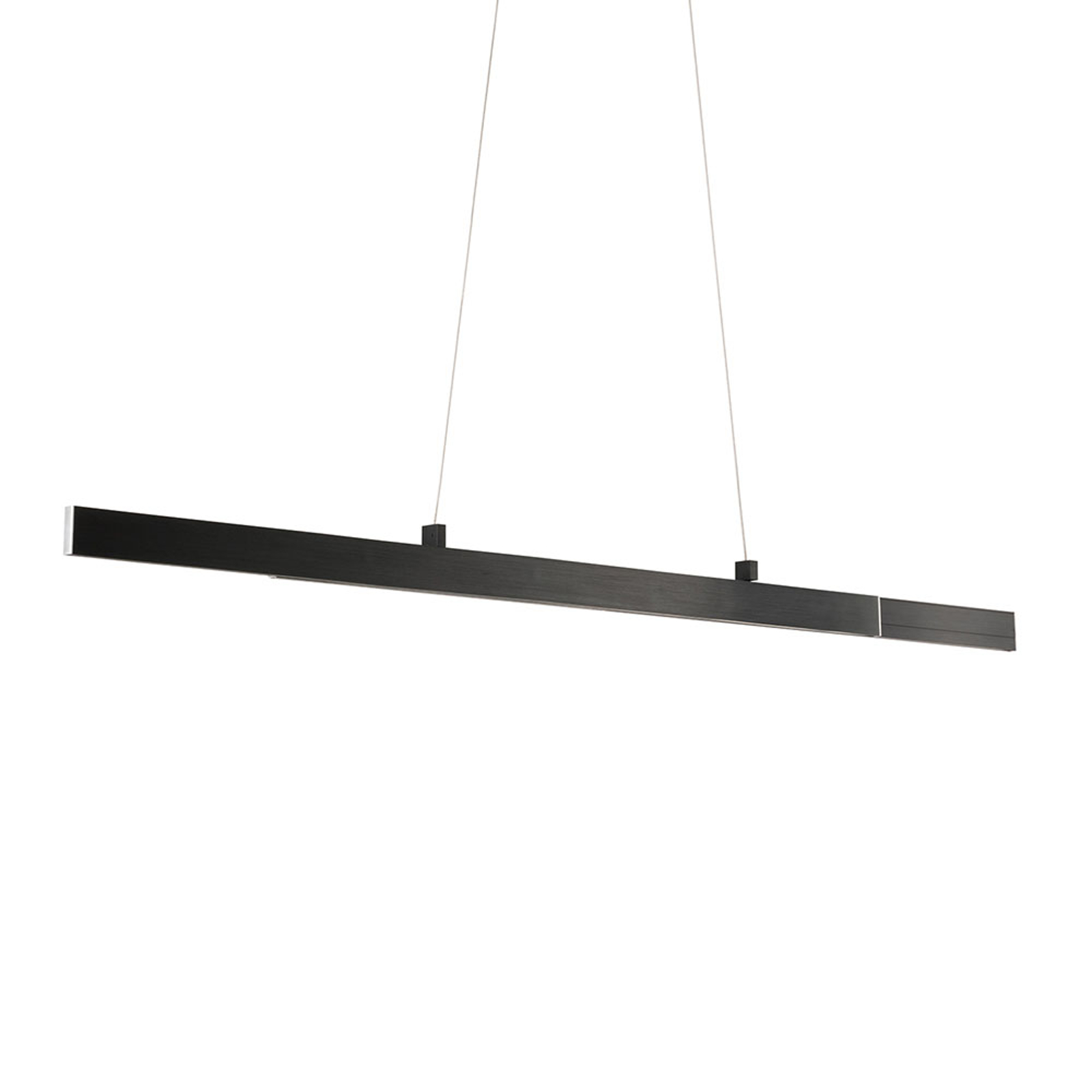 LED-Pendelleuchte Orell, ausziehbar, anthrazit
