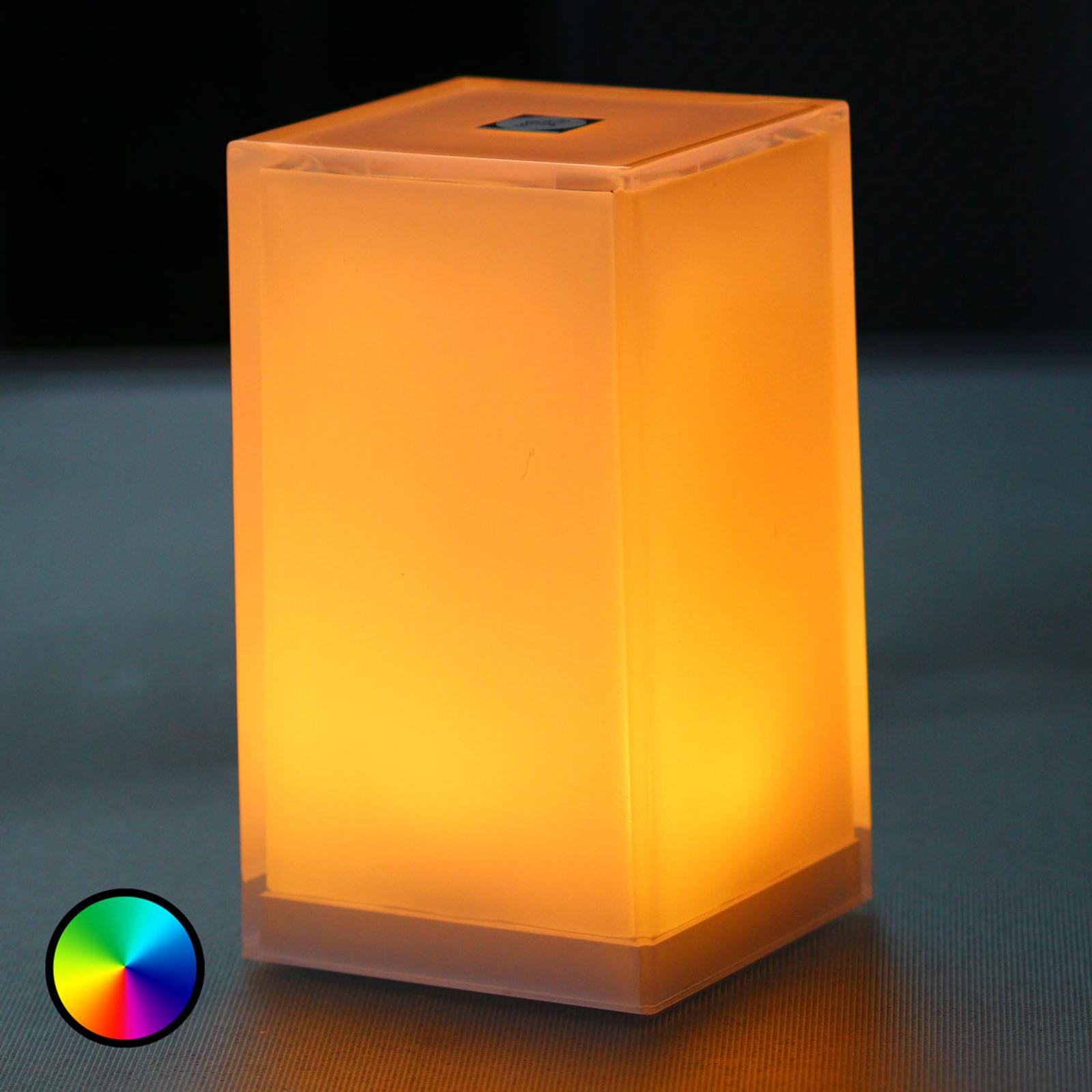 Tischleuchte Cub im 6er-Pack, App-steuerbar, RGBW