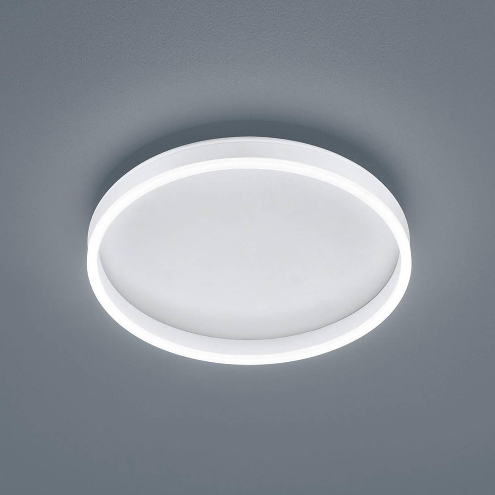 Helestra Sona LED plafondlamp dimbaar Ø40cm wit